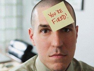 jij bent ontslagen